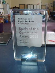 spirit community award 2013